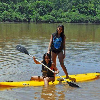 Tour de kayaks de Puro Moconá Lodge